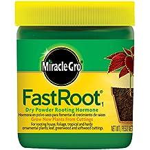 La Scotts Co. 100645 Miracle-Gro rápido raíz seco polvo hormonas enraizamiento ...