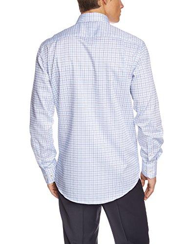 Seidensticker Herren Regular Fit Businesshemd KENT 186486 Blau (hellblau 12)