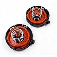 Juego de 2 válvulas reguladoras de presión para grúa 11127547058 para E53 E60 E63 650i 550i X5 750Li 750i 645Ci 745Li 2002-2010