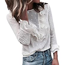 76dbb9258 Amazon.es  camisa blanca volante