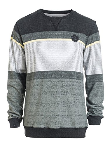 Rip Curl Herren Sweatshirt RAPTURE STRIPE CREW Schwarz - Black (Black)