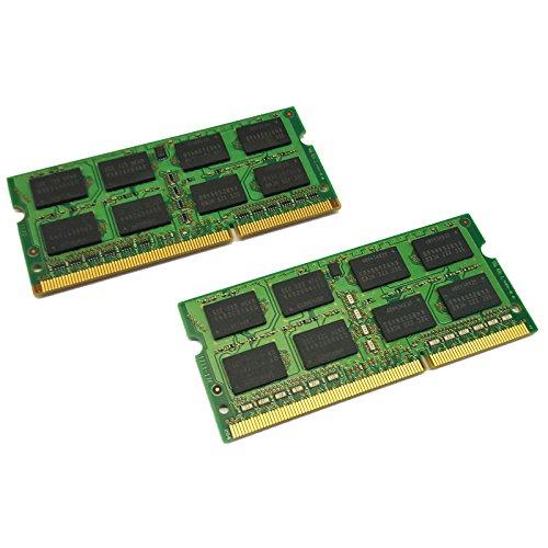 dekoelektropunktde 8GB KIT Dual Channel (2X 4GB) Ram Speicher DDR3 für Alienware M17x Notebook Speicher | PC3 SODIMM Arbeitsspeicher Memory Upgrade -