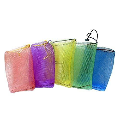 1 Perligran Seifenbeutel Bade-Perli Seifenschwamm Seifensack Seifennetz Badeschwamm Seifensäckchen Seifentasche