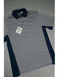 Ashworth Herren Golf Shirt weiß/blau Med