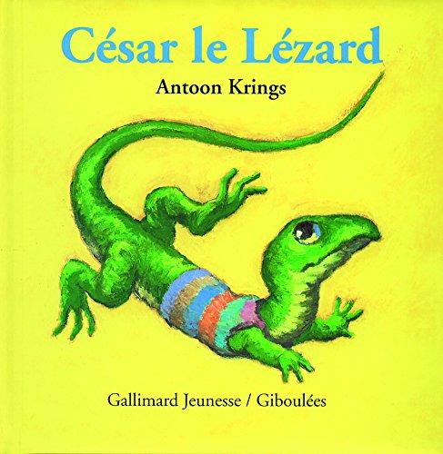 César le Lézard par Antoon Krings
