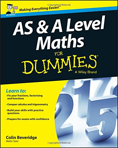 AS & A Level Maths For Dummies for sale  Delivered anywhere in UK