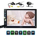 In Dash 7 Inch Capacitive Multi-Touch Screen Double 2 Din car Stereo Head