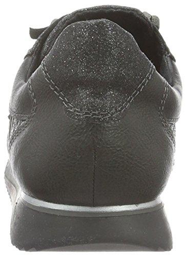 Tamaris Damen 23613 Sneakers Silber (Pewter St.Comb 980)