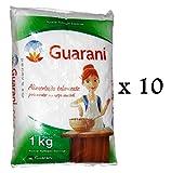 weisser brasilianischer Rohrzucker Sparpack 10 x 1 kg