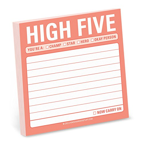 Sticky Note High Five