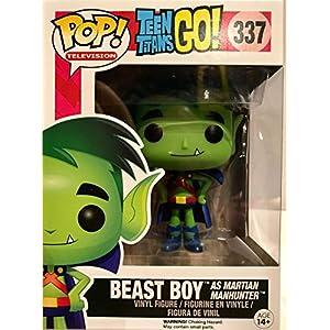 FunKo 10272 Teen Titans Go Beast Boy cazador de hombres Marciano