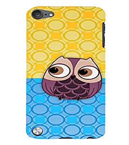 Fuson 3D Printed Owl Designer back case cover for Apple iPod Touch 5 - D4348