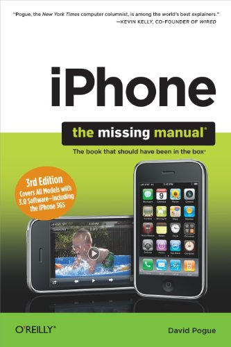 iPhone: The Missing Manual: Covers All Models with 3.0 Software-including the iPhone 3GS (English Edition) Video Ipod Cover