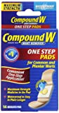 Compound W Wart Remover Pads Adult 14 Pa...