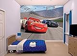 Walltastic 45125 Wandbild mit Motiven aus Disney Cars 3, Papier, Mehrfarbig, 52.5 x 7 x 18 cm