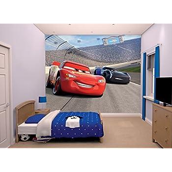 Disney Cars 3 Wall Mural, Multi Colour Part 89
