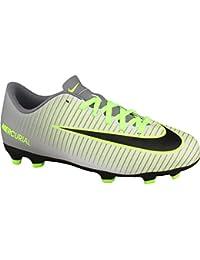 Nike Unisex Adults' Jr Mercurial Vortex III FG Football Boots