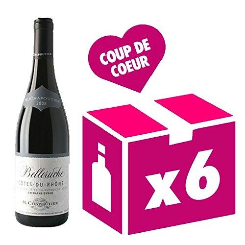 Chapoutier - Côtes Du Rhône Belleruche - Carton 6 Bts