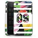 DeinDesign Coque Compatible avec Apple iPhone 3Gs Étui Housse Fleurs Style Étudiant Football