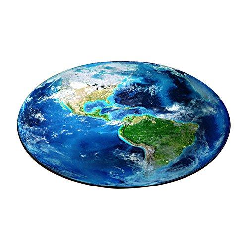 Kid 's Earth Stil Teppich rund Teppich Bereich Teppiche 39.37in/100cm -