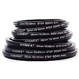 XCSOURCE 77 72 67 62 58 55 52 49mm Adaptador de filtro de lentes Step down de DC69