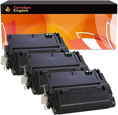 Cartridges Kingdom 3-er Pack Toner kompatibel zu HP Q1339A 39A für HP Laserjet 4300, 4300dtn, 4300dtns, 4300dtnsl, 4300n, 4300tn -