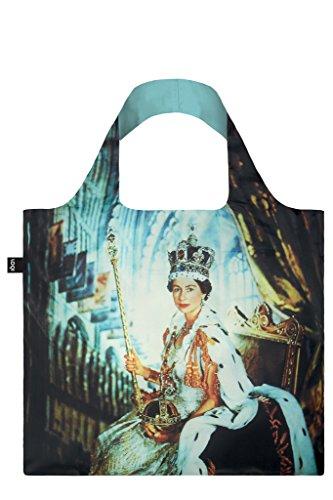 LOQI Museum Cecil Beaton Queen Elizabeth Ii Bag Borsa da spiaggia, 50 cm, 20 liters, Multicolore (Multicolour)