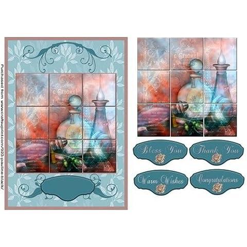 Collage di piastrelle in francese Parfum Pauline,