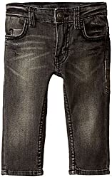 United Colors of Benetton Baby Boys Jeans (15A4CU9579F0G100_Black_0Y)