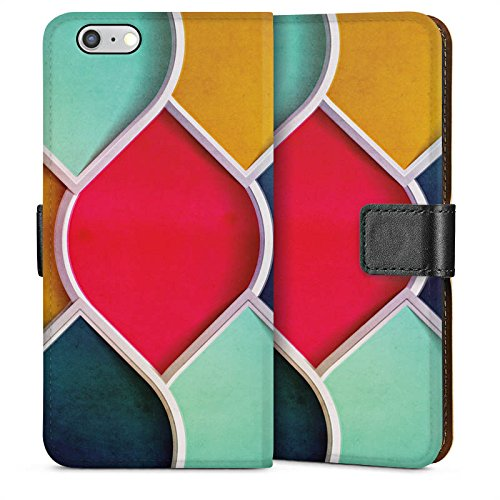 Apple iPhone 5 Housse étui coque protection Couleurs Motif Motif Sideflip Sac
