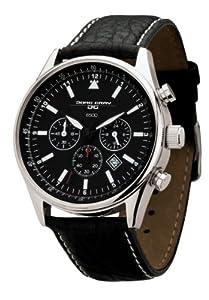 Reloj Jorg Gray JG6500NC de caballero de cuarzo con correa de piel negra - sumergible a 100 metros de Jorg Gray