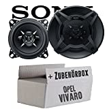 Opel Vivaro A - Sony XS-FB1030-10cm 3-Wege Koax-System - Einbauset