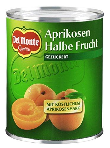 Del Monte Abricots Demi-Fruits au Sirop Léger 825 g