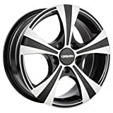 CARMANI 11 Rush black polish 7,5x17 ET38 5.00x114.30 Hub Bore 72.60 mm - Alu felgen