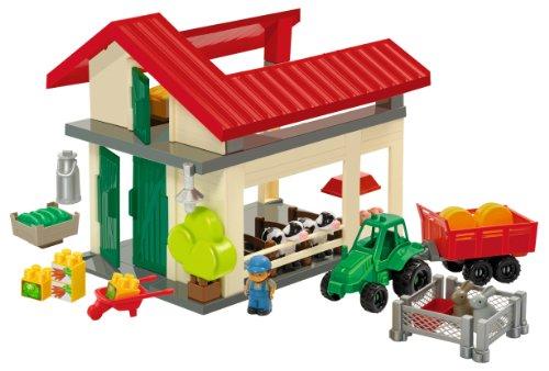 Ecoiffier - 3098 - Jeu de Construction - Ferme Abrick