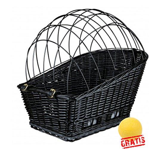 Trixie Friends On Tour 13117+ Ball gratis bicicleta cesta para perros...
