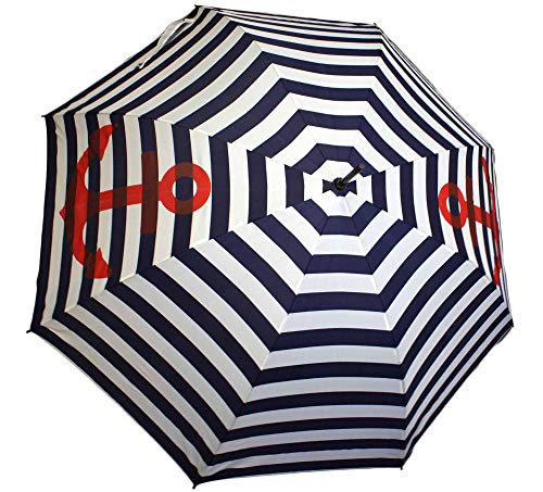 Sonia Originelli Stockschirm Maritim Anker Streifen Regenschirm