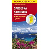 MARCO POLO Karten 1:200.000: MARCO POLO Karte Italien Blatt 15 Sardinien 1:200 000