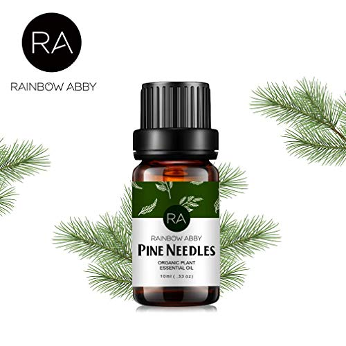RAINBOW ABBY Tannennadeln Ätherisches ÖL, Pine Needles Oil - 100% Reines, Ätherisches ÖL Der Besten Organischen Therapeutischen Qualität - 10ML -