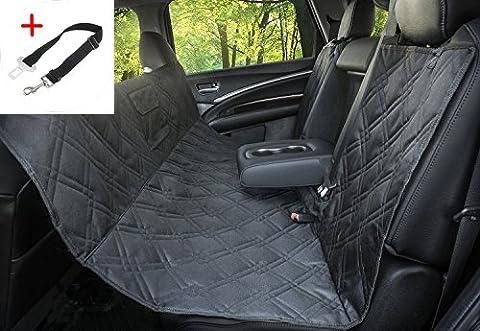 Pettom Auto-Sitzabdeckung hundedecke hunde autositz wasserdichter Hundesitzbezüge Anti-Rutsch-Reise Auto-Sitzabdeckung Heavy