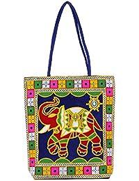 Aadhunik Libaas Ethnic Embroidry Work Shoulder Bag (Handbag) For Women's Girl's