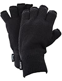 FLOSO - Mitaines thermiques en polaire Thinsulate (3M 40g) - Homme
