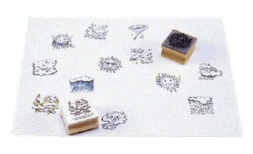 WEATHER STAMPS
