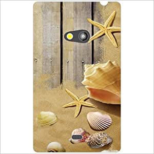 Nokia Lumia 625 Back Cover - Abstract Designer Cases