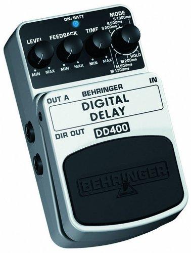 Behringer DD400 4033653052115 - Pedal de efecto phaser para guitarra