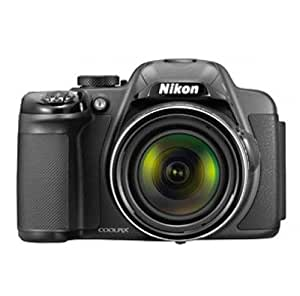 Nikon Coolpix P520 18.1MP Point-and-Shoot Digital Camera (Silver) with 4GB Card, Camera Pouch, HDMI Cable