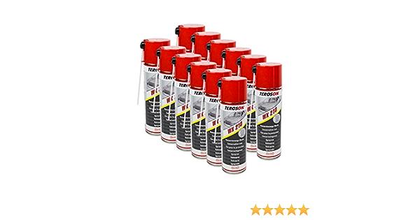12x Teroson Wx Multi Wax Spray 500ml Corrosion Protection Spray 795890 Auto