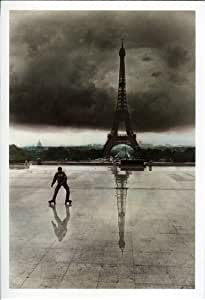 """Lots de 12 Vintage Cartes Postales """"The Skater Paris"""""""
