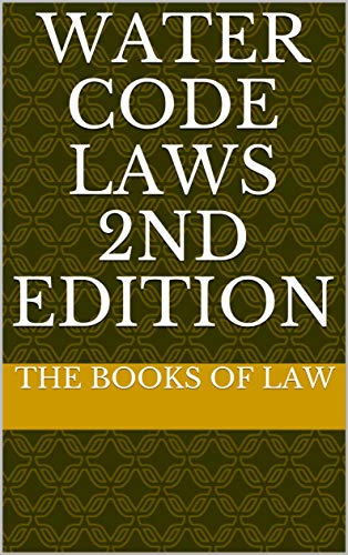 Water Code Laws 2nd Edition (English Edition)