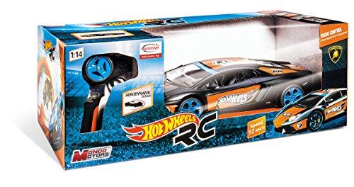 Mondo R/C Hot Wheels - Coche con Mando Lamborghini Aventator 63346